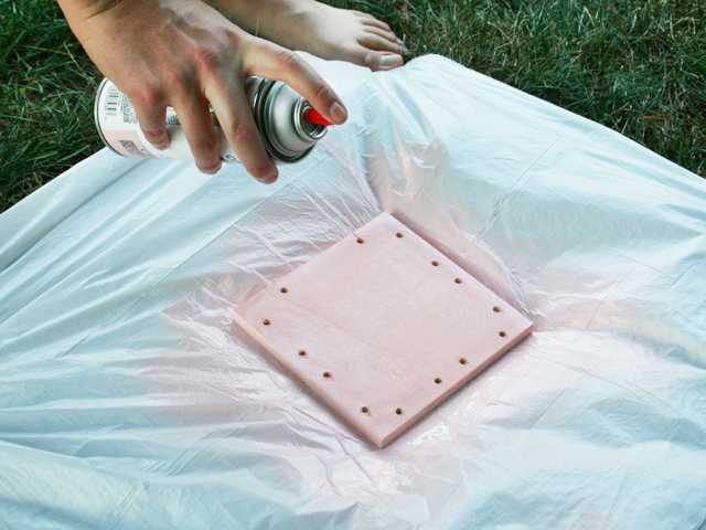 DIY Marquee Light Picture Frame