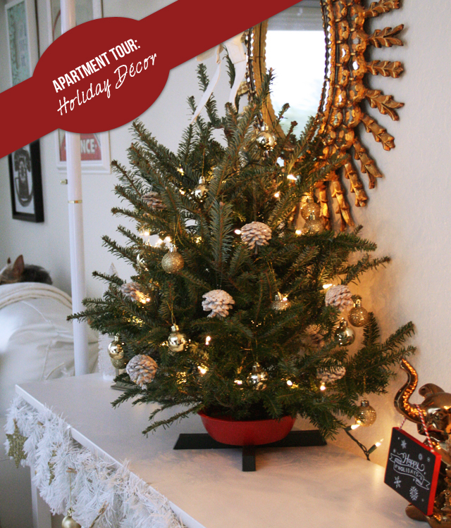 Christmas Decorations For Apartments tour: holiday décor