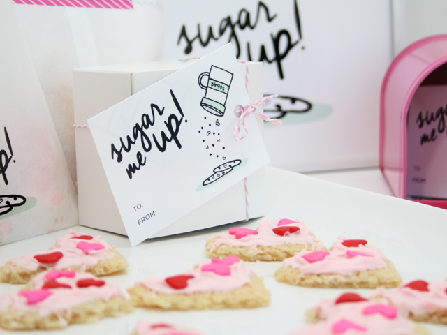 Sugar Me Up! Valentines Day Gift Tag