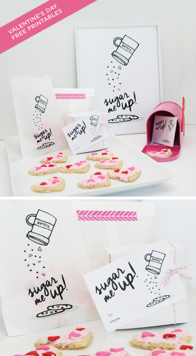 Sugar Me Up! Valentines Day Printables