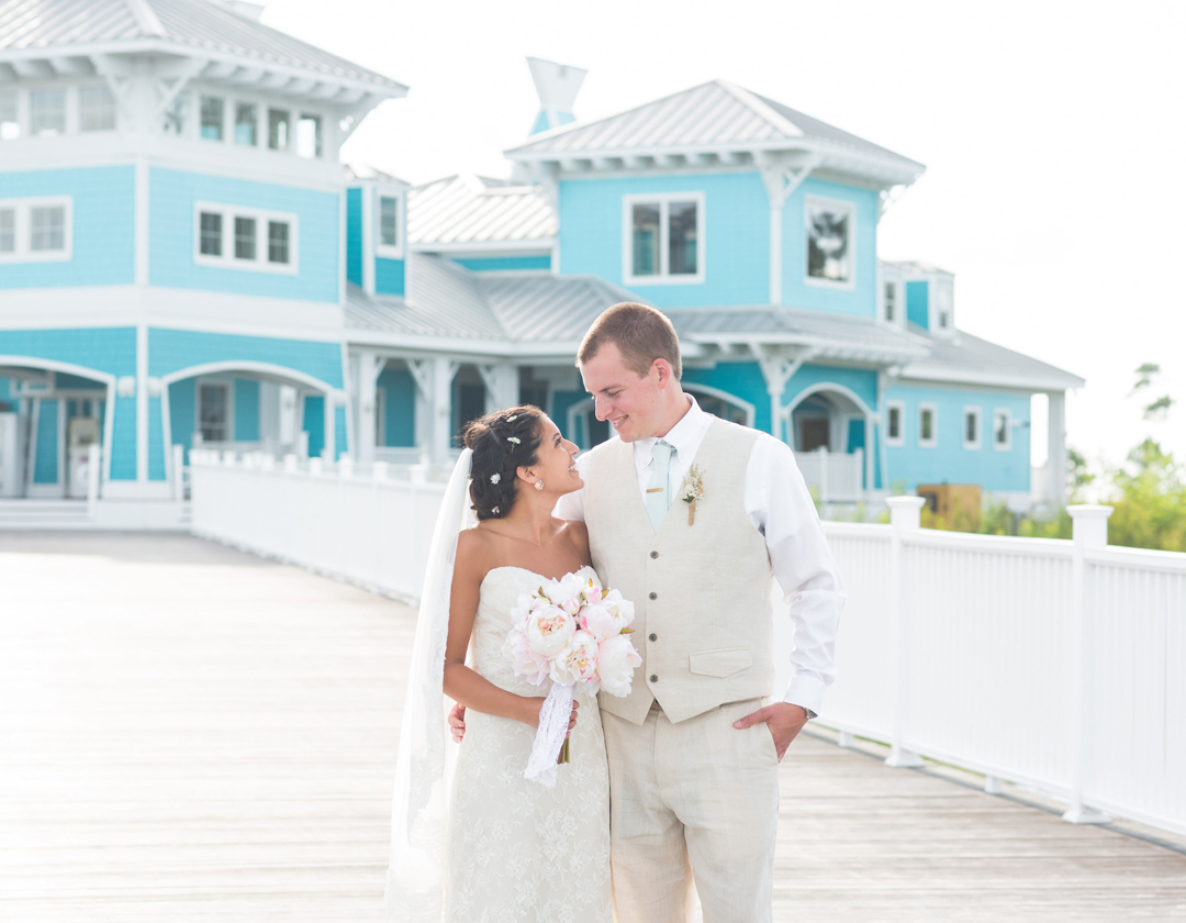 Our Wedding Story : Cape Charles, VA