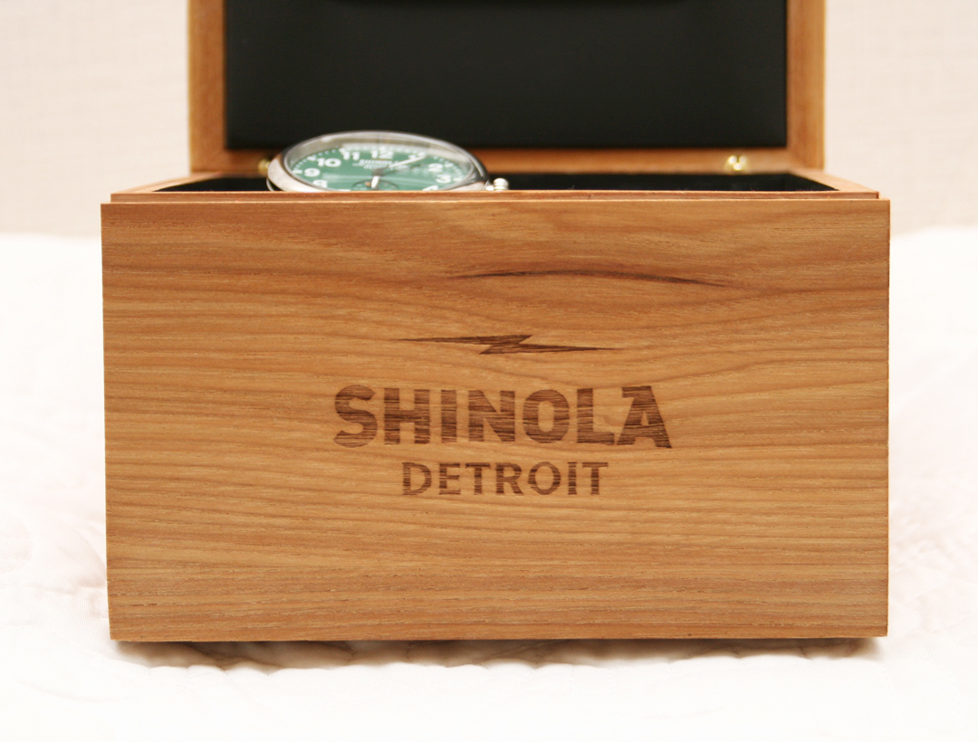 His Style: Shinola Watch