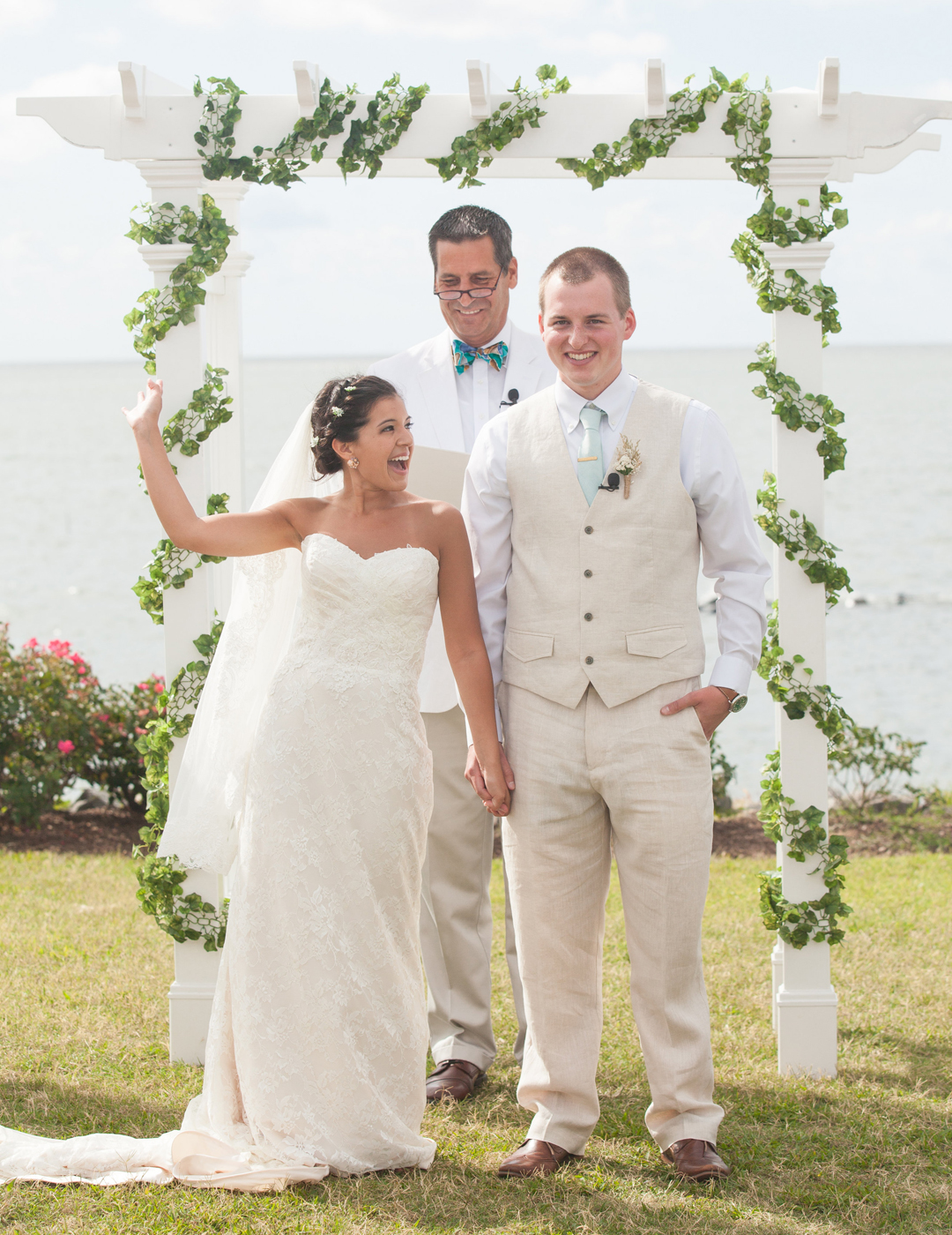 Our Wedding Story: Cape Charles, VA