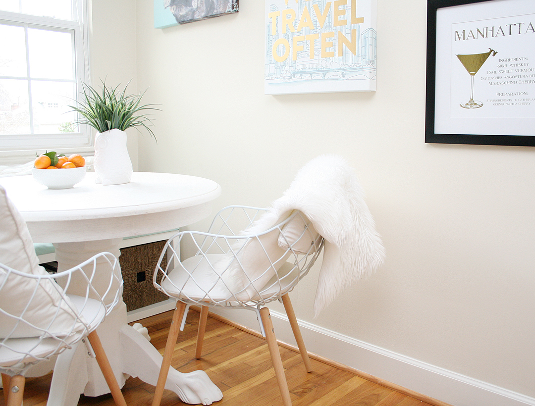 Home Tour: Our Breakfast Nook