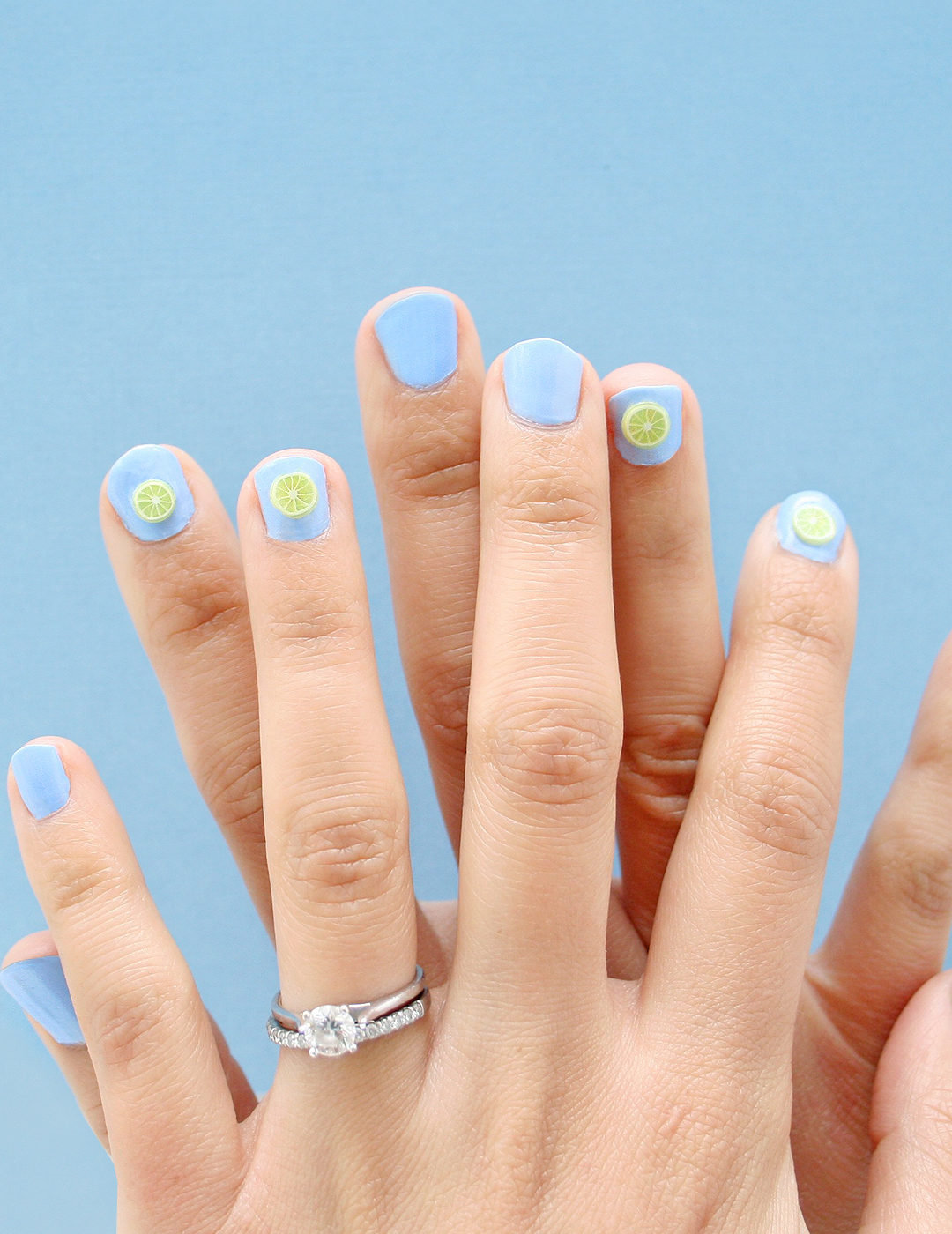 DIY Fruit Nails