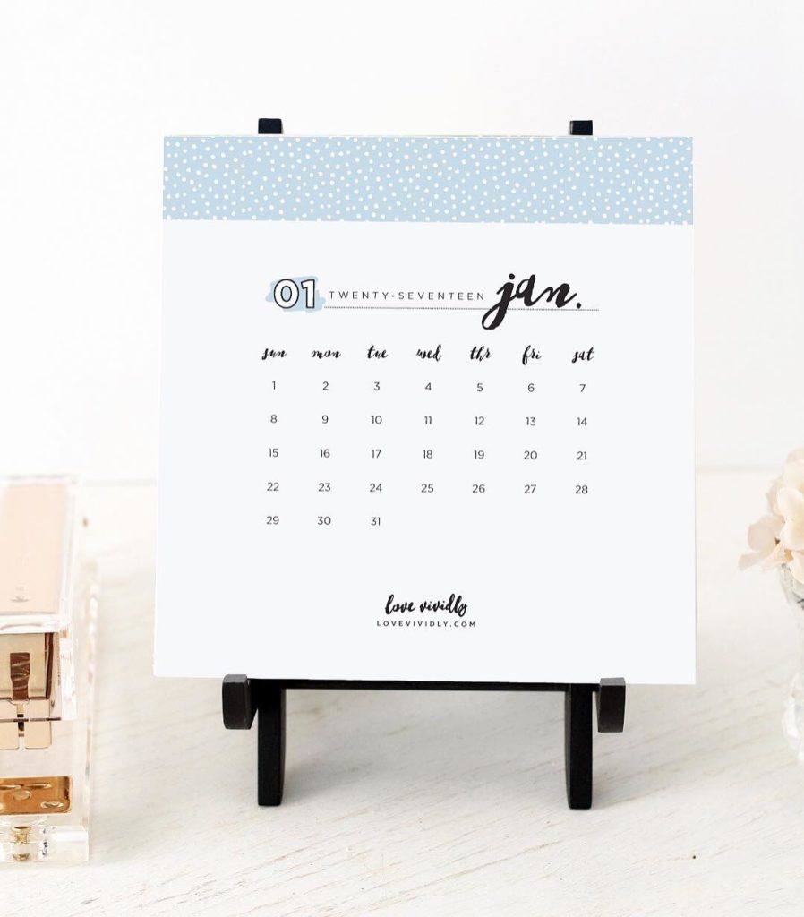 New Year means you need a new calendar!! Sharing thishellip