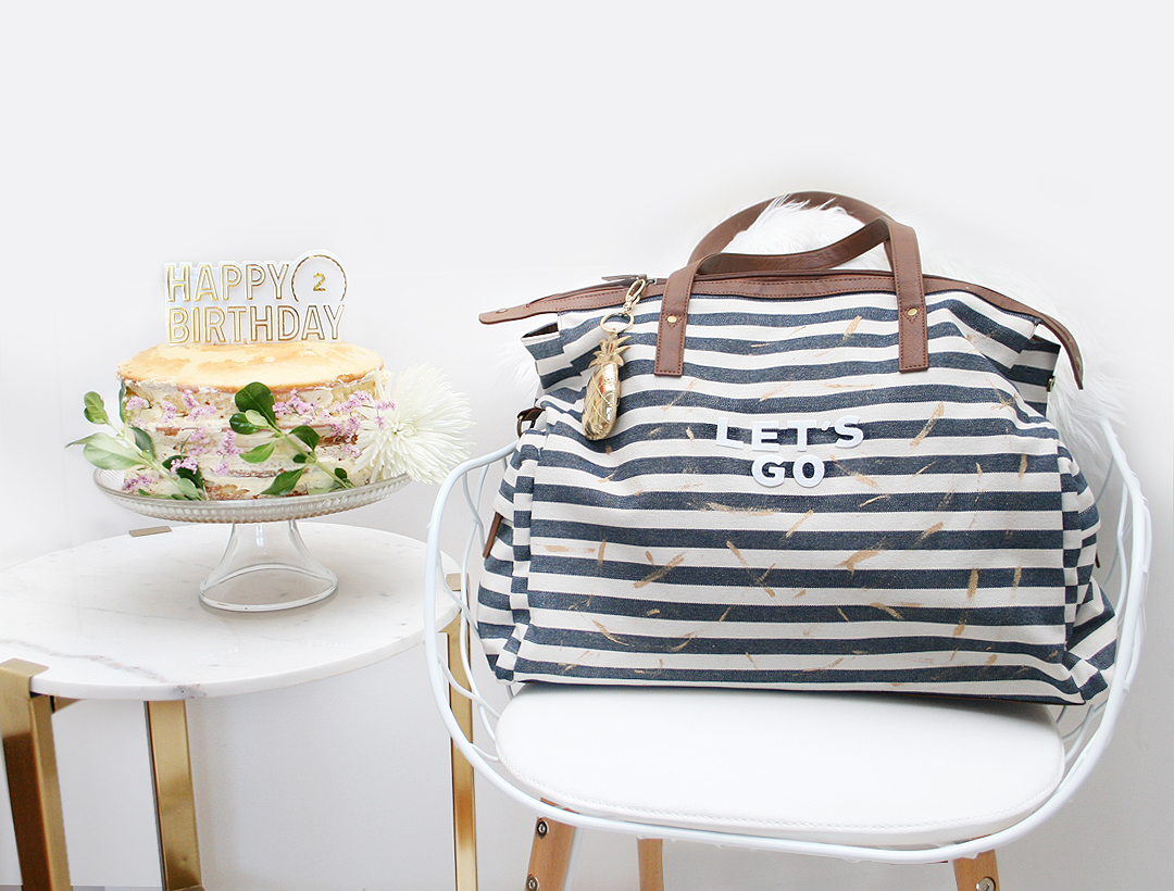 LV Turns 2! Featuring a DIY Weekender Bag + Giveaway