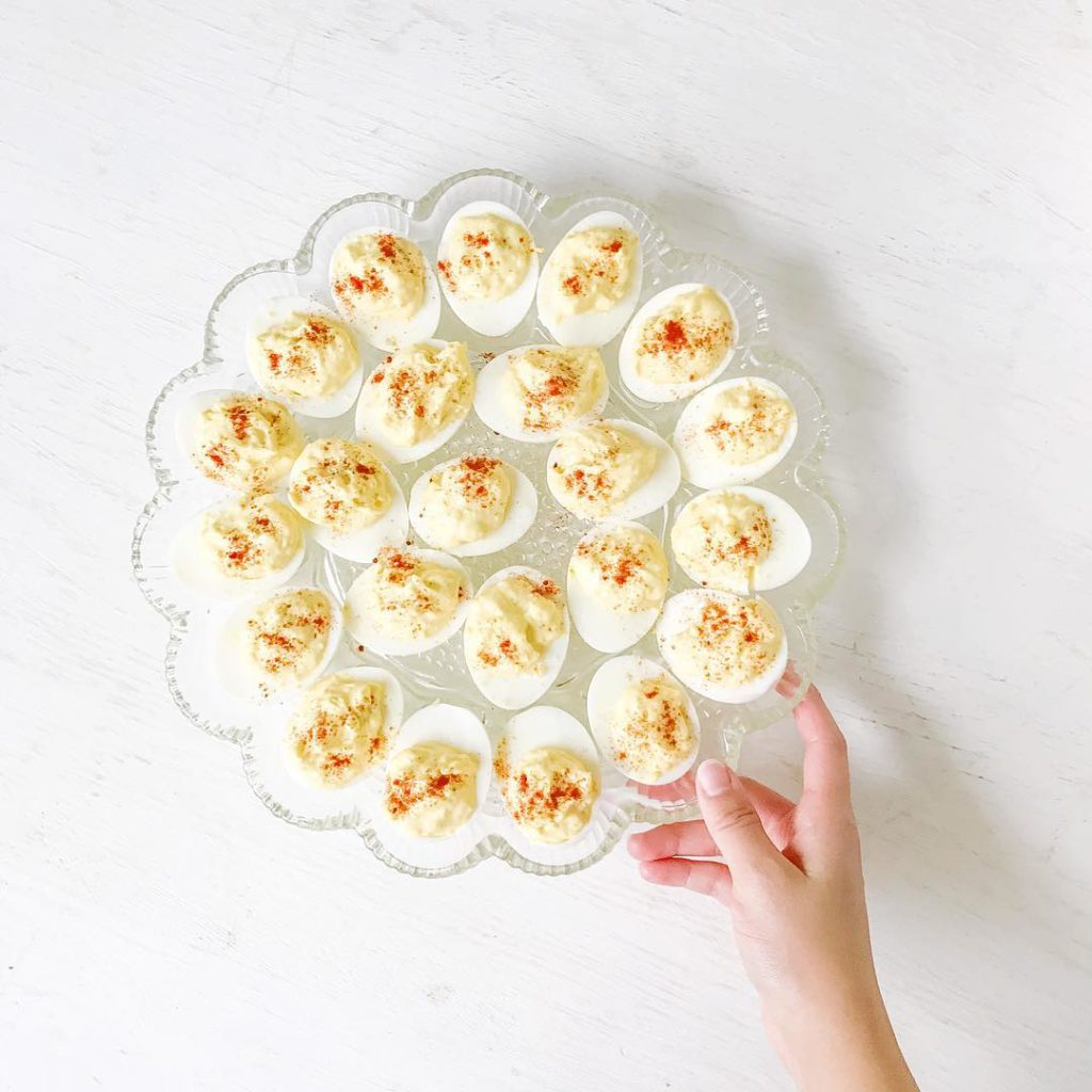 Cant have a Thanksgiving without the deviled eggs What arehellip