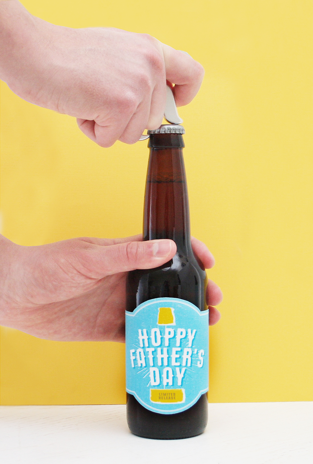 Free Printable Hoppy Father S Day Beer Label