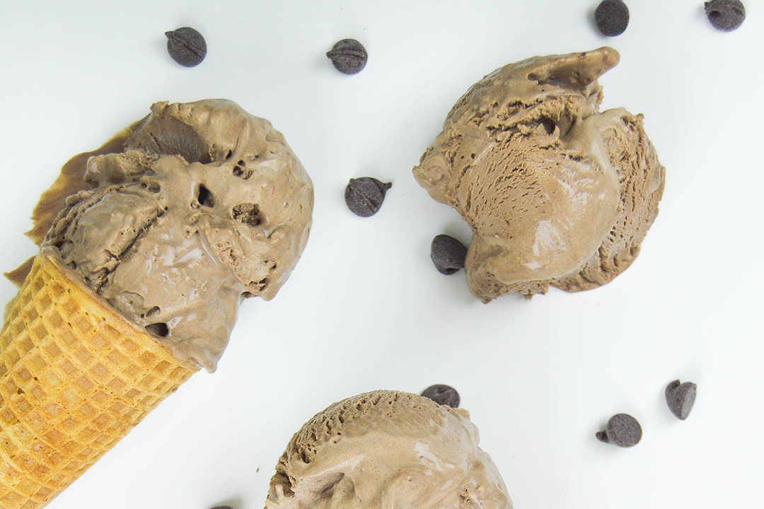 Spiced Chocolate Ice Cream Recipe — Dishmaps