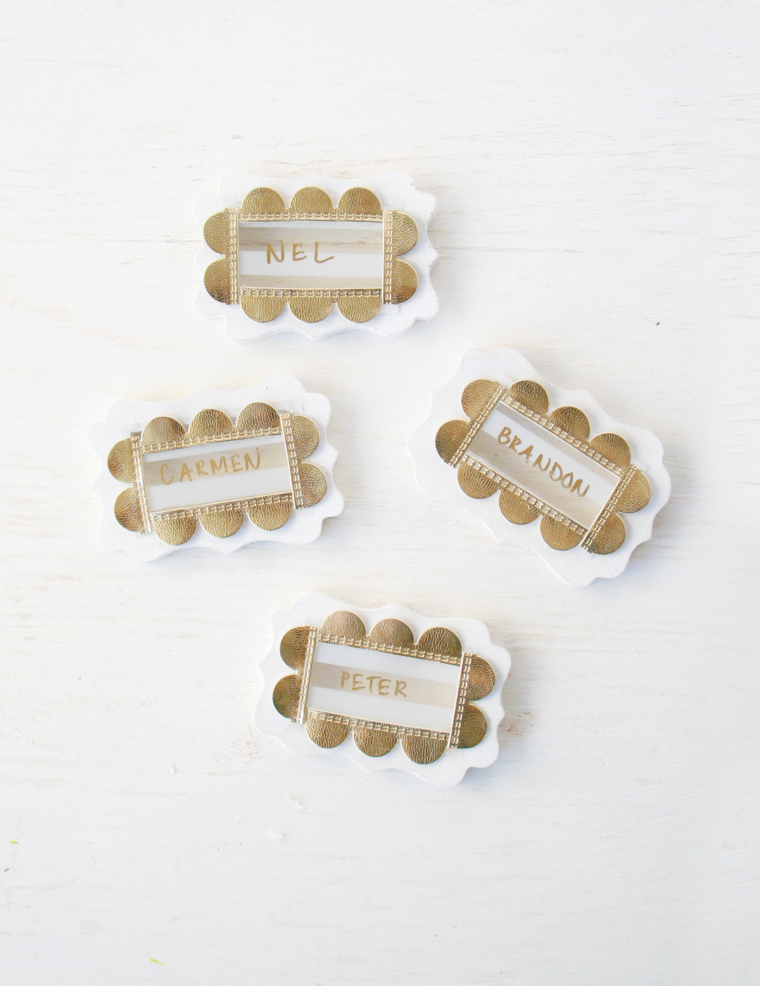 DIY Chic Name Cards