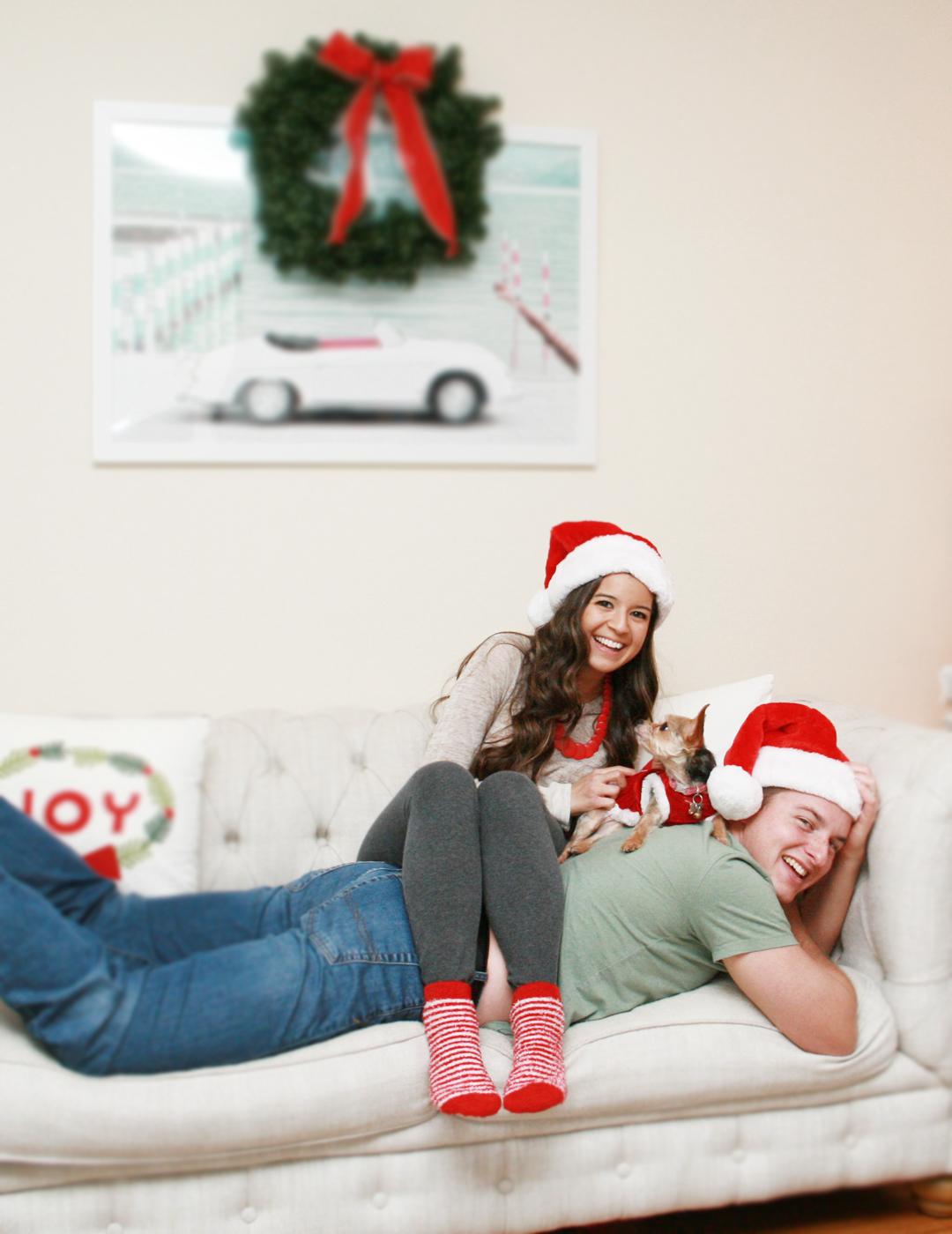 Our Annual Diy Christmas Card Photoshoot