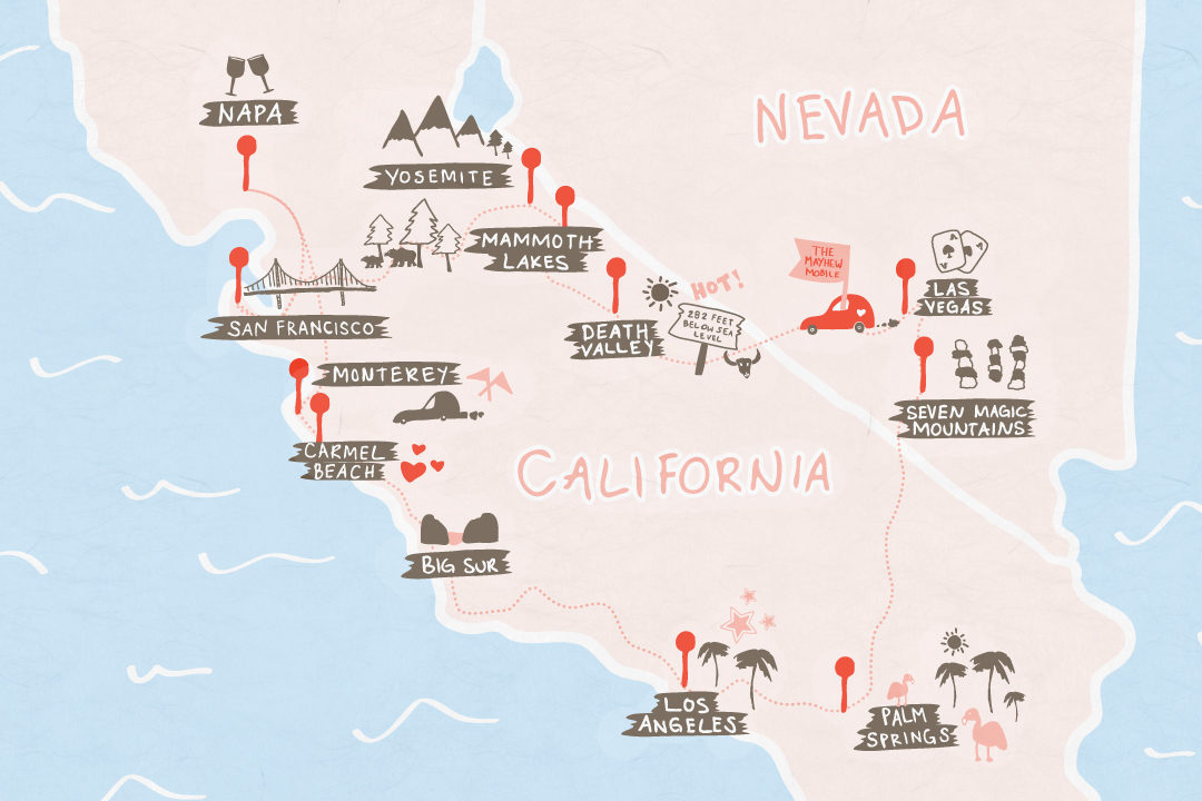 Our 10 Day California Road Trip